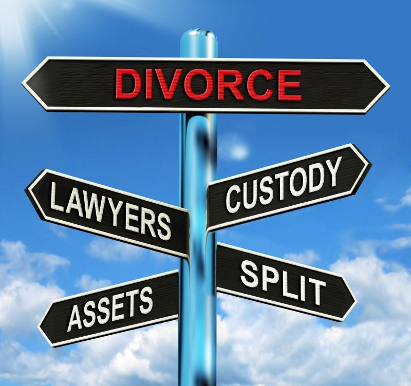 divorce cross roads